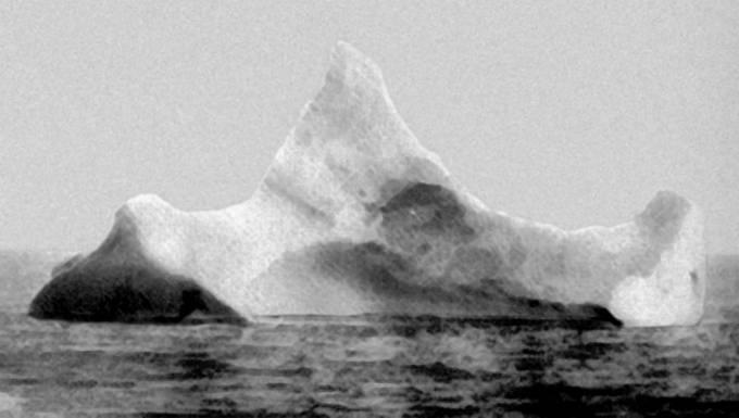 S velkou pravděpodobností právě tento ledovec Titanic potopil.