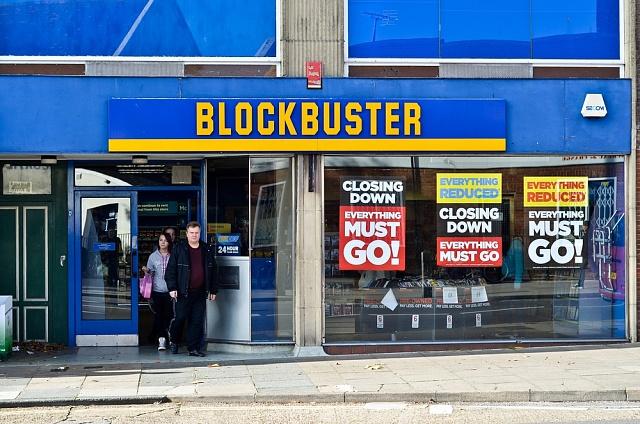Videopůjčovny Blockbuster