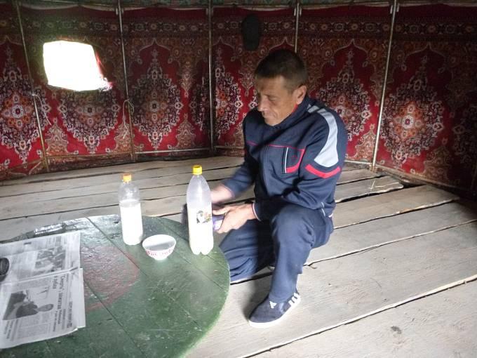 Kumys, slaný nápoj z kobylího mléka, je spíše pro silnější žaludky