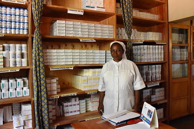 Centrum SOSAME je katolická organizace, kterou podporují převážně organizace ze Švédska.