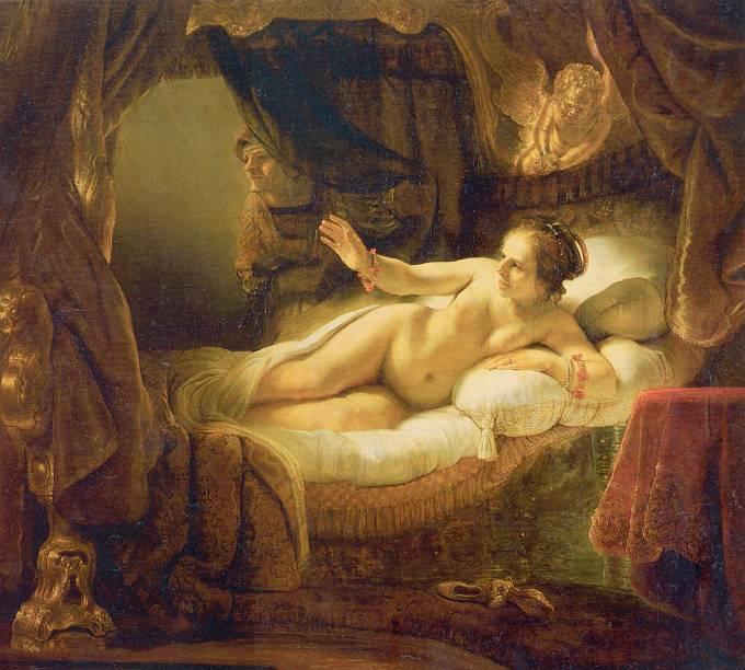 Rembrandt van Rijn: Danae, 1647