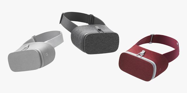 Nový headset pro virtuální realitu Google Daydream