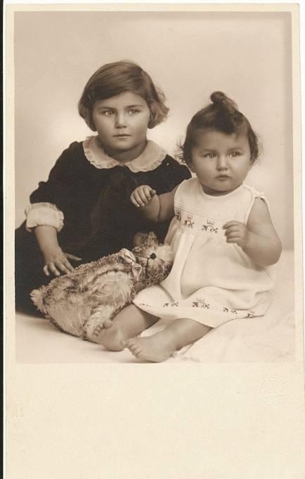 Dagmar Lieblová se sestrou Ritou