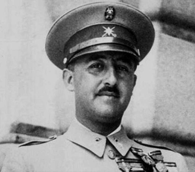 Po vítězství oddílů generála Franciska Franka vobčanské válce vletech 1936až 1939zhnědlo iŠpanělsko.
