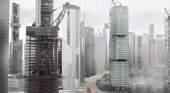 Další z projektů, který by měl pomocí pasivních energií (z pístů metra či z výtahových šachet), bojovat se znečištěním vzduchu v čínských megalopolích. (Čestné uznání)