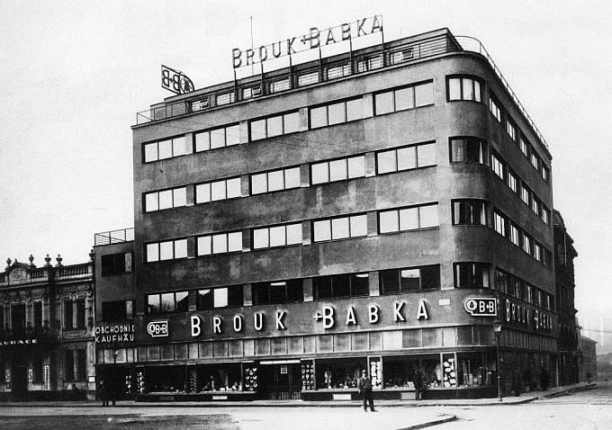 Obchodní dům Brouk & Babka v bývalé Moravské Ostravě z roku 1928