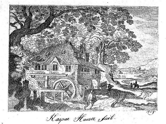Kresba Kašpara Hausera potvrdila jeho výtvarný talent.