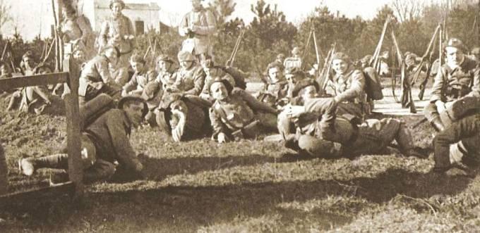 Československé jednotky, legionářský prapor