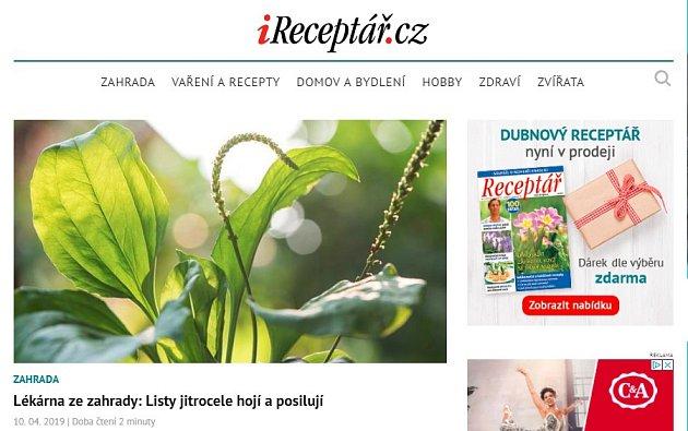 iReceptar.cz
