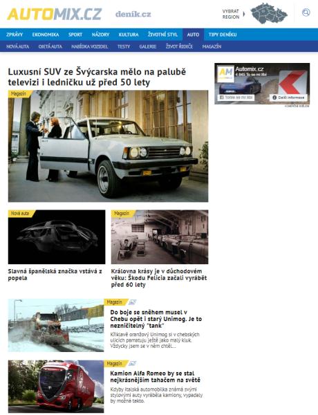screenshot Automix.cz