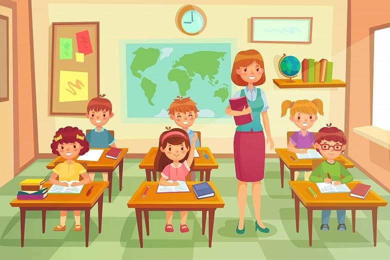 Školní třída. Ilustrační foto.