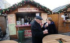 Vánoční trhy v Ostravě.
