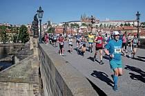 Pražský maraton 2018. Ilustrační foto.