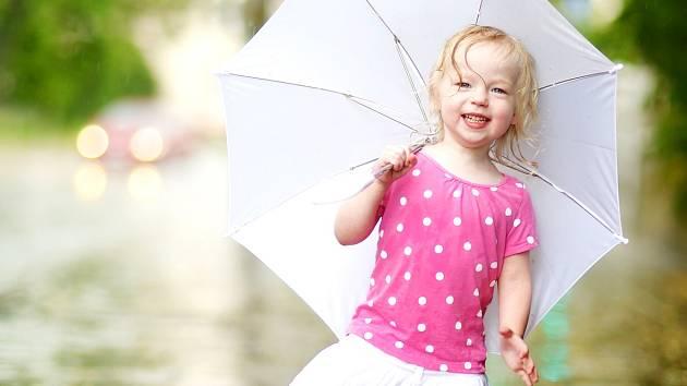 Letní déšť. Ilustrační foto.