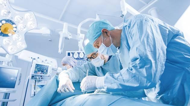 Operace. Ilustrační foto.