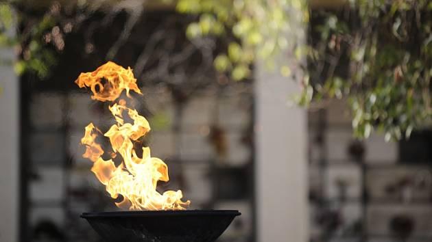 Věčný oheň. Ilustrační foto.
