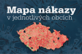 Mapa šíření nákazy koronaviru v jednotlivých obcích za posledních sedm dní
