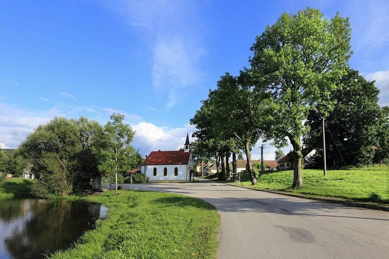 Zeleň v obcích. Ilustrační foto.