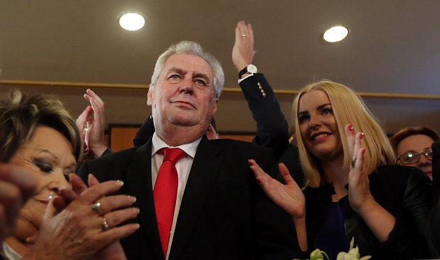 Rok 2013: Miloš Zeman vyhrává prezidentské volby.