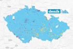 Sněmovní volby 2017. Vítězné strany v jednotlivých okrscích.