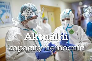 Aktuální kapacity nemocnic