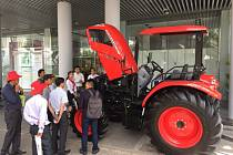 Stroje Zetor na veletrhu ILDEX konaném v Ho Či Minově městě.