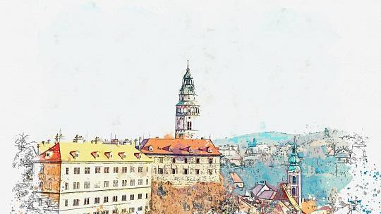 Státní hrad a zámek Český Krumlov. Ilustrační foto.