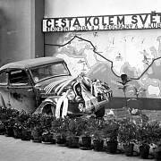 Škoda Rapid z cesty kolem světa.
