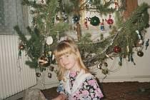 Sabina Křováková a její dětské Vánoce.