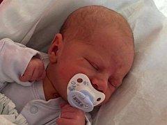 Adam Sedlák, Dolní Újezd, narozen 19. března v Přerově, míra 51 cm, váha 3520 g