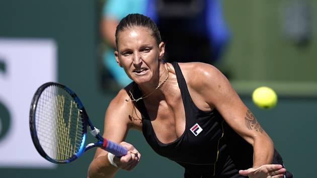 Karolína Plíšková v Indian Wells dohrála.