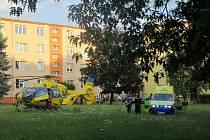 Desetiletý chlapec byl zraněn při střetu v žateckém Podměstí