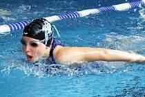 Žatecká plavkyně Lucie Urbanová.