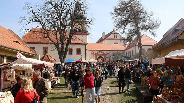 Velikonoce na zámku Nový Hrad v Jimlíně