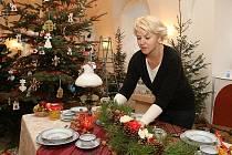 Vánoční výstava na zámku v Libochovicích