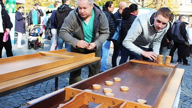 Na lounském náměstí proběhl Holandský víkend.