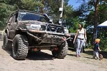 Závody offroadů v Bezděkově