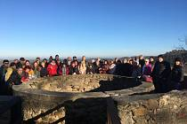Petrohradští si tradičně vyšlápli ke kapli na Ovčím vrchu