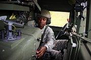 Kontrola funkčnosti prostředků amerických vojáků
