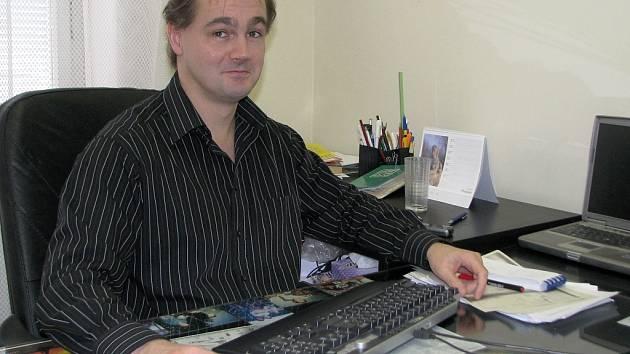 Libor Želinský, šéfredaktor Žateckého a lounského deníku