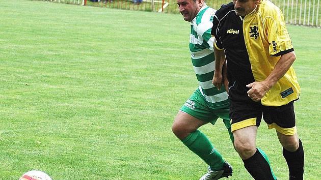 Ve Vroutku oslavovali pětašedesát let fotbalu v obci.