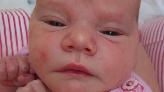 Anežka Berkyová se narodila mamince Pavlíně Berkyové z Loun 23. srpna v 11.10 hodin. Měřila 50 cm a vážila 3,44 kilogramu.