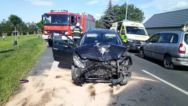 Nehoda u Černčic u Loun