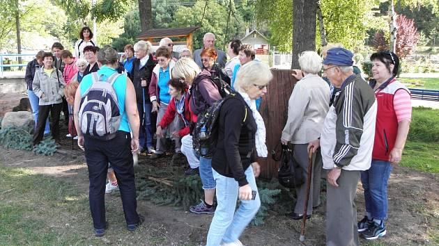Návštěvníci si v Opočně u Loun prohlédli Brod setkání Oldřicha a Boženy