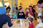 Dům dětí a mládeže v Žatci zve rodiče, prarodiče a jejich ratolesti na tvořivé dílny v rámci Komunitně osvětového setkávání.
