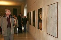 Výstava Kosmos autora Kamila Linharta