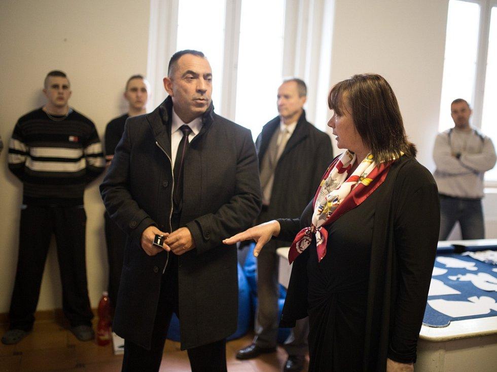 Ivana Zemanová navštívila ústav v Pšově.