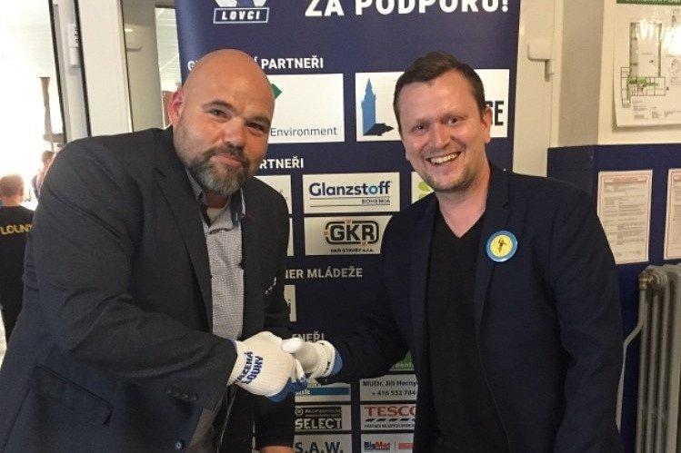 Předseda TJ Lokomotiva Louny Jan Macháček