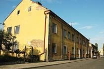 Dělnická ulice v Podbořanech