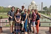 Mladí umělci z Loun viděli například slavný Tádž Mahal